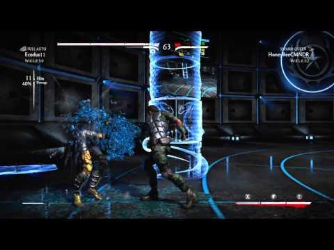 MKX: Ecodus (Full Auto Jacqui Briggs) vs HoneyBee (Swarm Queen D'Vorah) (видео)