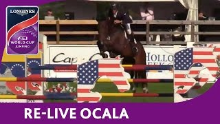 Re Live   Ocala   Longines Fei World Cup    Jumping 2016 17 Nal   Hollow Creek Longines W  Ranking Qf