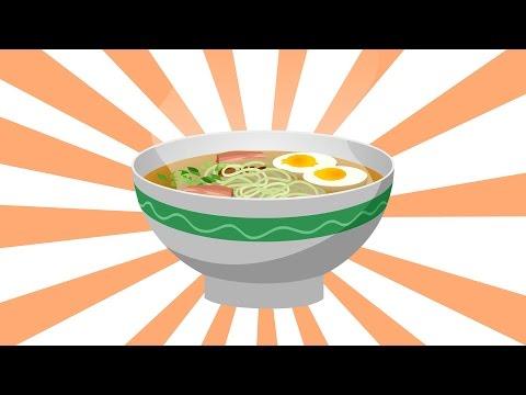 GreeNoodle - Ramen Noodles Made with Moroheiya (Animation) - Thời lượng: 2 phút và 4 giây.