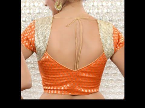 Video Blouse Back Neck design in Telugu | DIY -14 download in MP3, 3GP, MP4, WEBM, AVI, FLV January 2017