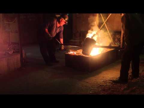 Печь для плавки стали