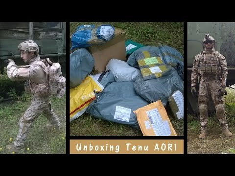 [AIRSOFT] Unboxing Tenu AOR1 - G&S - Le 30/08/2014