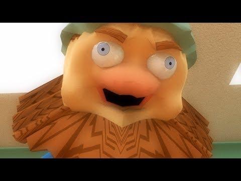 Дядя Страхуев и пожарная тревога (3D-пародия на Спасаева)