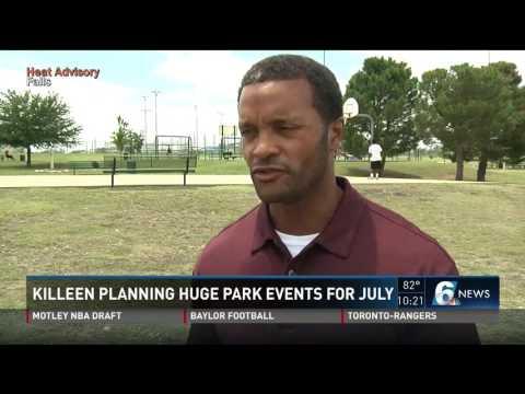 Killeen planning huge park events for July