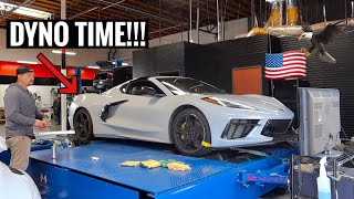 GETTING THE C8 CORVETTE READY FOR TWIN TURBOS!!! by TJ Hunt