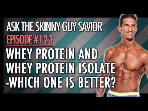Whey Protein vs Whey Protein Isolate: Which is BETTER?