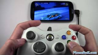 Playing Games On Android With An Xbox 360 Controller