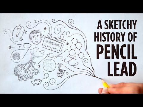 A Sketchy History Of Pencil Lead  | Good Question | SKUNK BEAR