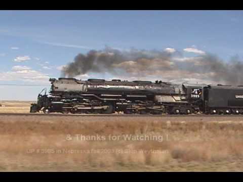 UP 3985 westbound to Cheyenne '03 - pt.2