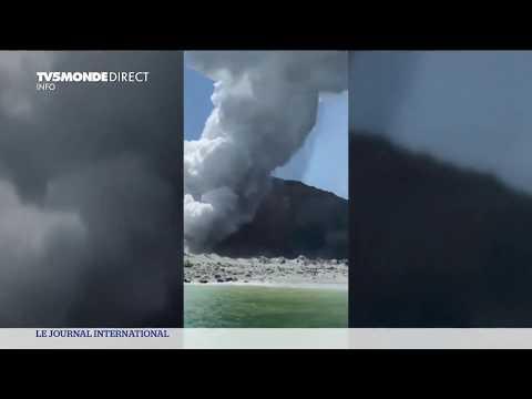 Nouvelle Zelande - Eruption volcanique meurtrière sur l'île de Whakaari / White Island