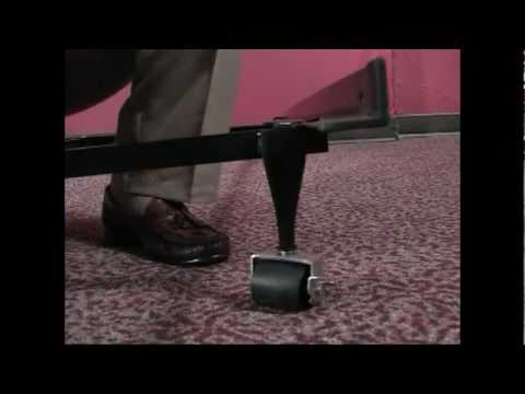 Vintage InnoMax Leg Rolling Caster Bed Frame Assembly Video