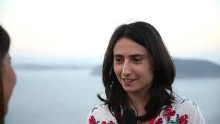 Silvia Bellotti con Aperti al pubblico all'Ischia Film Festival 2018