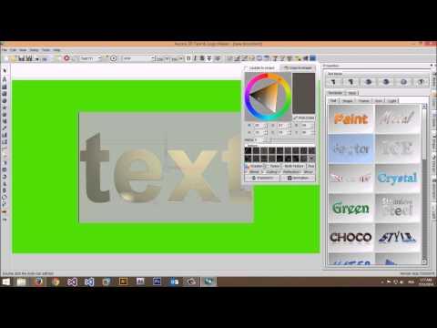 aurora 3d text logo maker 13.04.18 crack