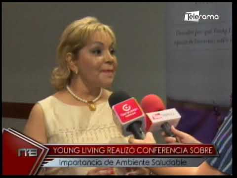 Young Living realizó conferencia sobre importancia de ambiente saludable