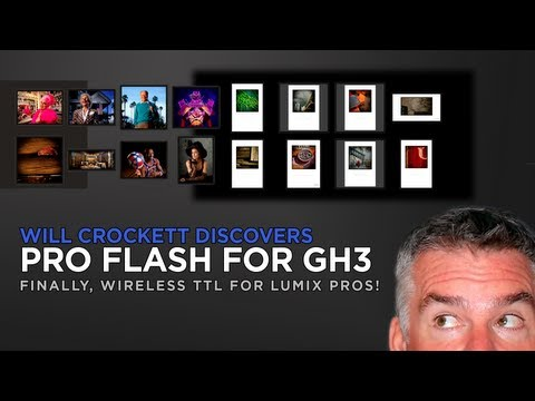 Breaking News:  PRO Wireless Flash Coming for the Panasonic Lumix GH3 and G5!