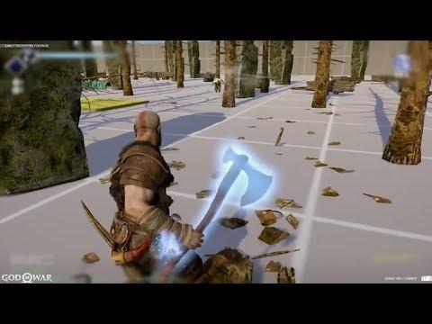 God of War: Baldur Fight Prototype (видео)