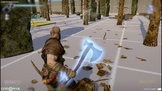 God of War: Baldur Fight Prototype