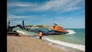Hoylake mechanic talks about Shannon class lifeboat