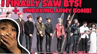 Video I FINALLY SAW BTS + UNBOXING ARMY BOMB VER. 3! (MAMA 2018 IN HONG KONG) MP3, 3GP, MP4, WEBM, AVI, FLV Desember 2018