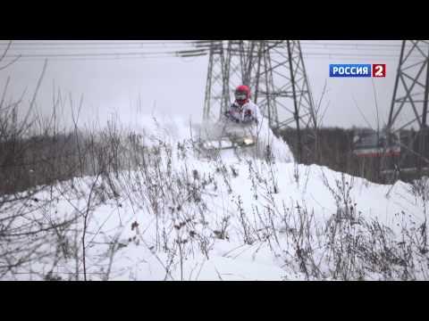 Зима: снегоход против квадроцикла