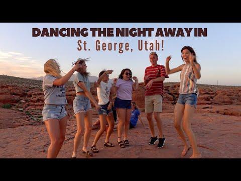 Dancing the night away in St. George, UTAH! I My Great American Road trip series