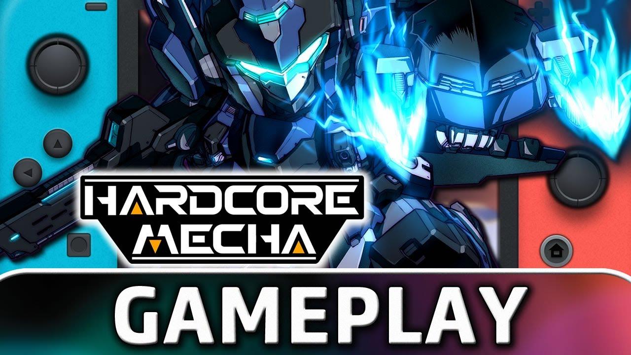 Hardcore Mecha | Nintendo Switch Gameplay