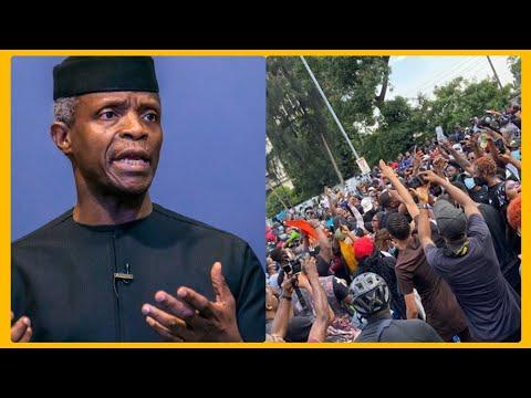 BREAKING: OSINBAJO DECIDES TO SPEAK AFTER L€KKIMASACR€, HIS STATEMENTS SHOCKS NIGERIANS