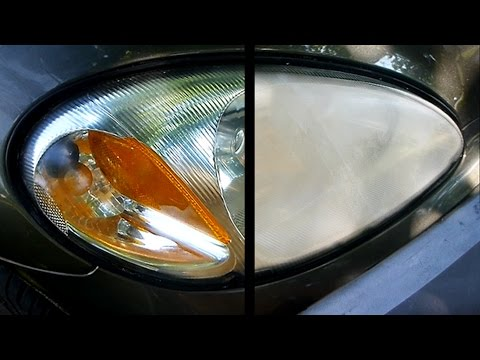 How To Restore Your Headlights (crystal Clear)