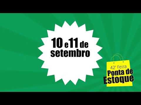 Palotina - 42ª edição da Feira Ponta de Estoque será realizada nesta sexta e sábado