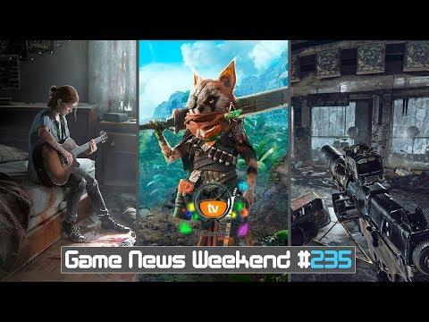 Игровые Новости — Game News Weekend #235   (Biomutant, The Last of Us 2, Onrush, Metro Exodus, PUBG)