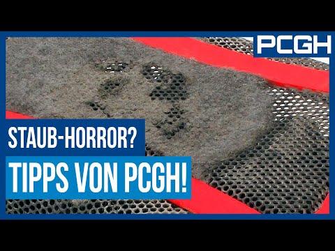 PC reinigen und von Staub befreien / PC-Frühjahrsputz mit PCGH
