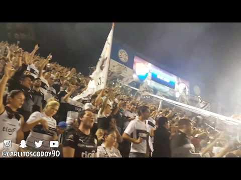 Canta La Hinchada   Olimpia vs Nacional   Sudamericana 2017 - La Barra del Olimpia - Olimpia - Paraguay - América del Sur