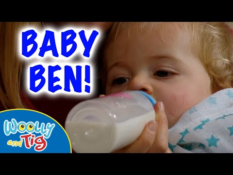 Woolly and Tig - Series 1, Episode 3 - Baby Ben | FULL EPISODE | #toyspider