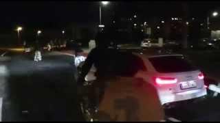 """Audi RS6 i """"Masa krytyczna"""" w Austrii"""