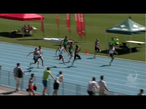 2013 Vic Champs. Men 100m Final