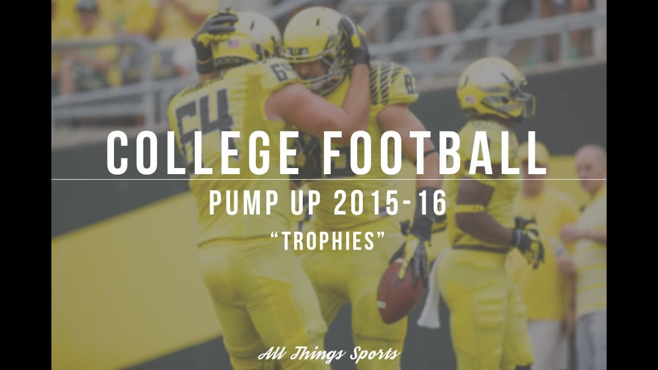 """College Football Pump Up 2015-16 