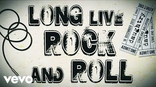 Daughtry - Long Live Rock & Roll (Lyric Video) lyrics (Bulgarian translation). | Well I was born