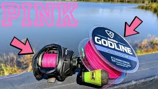 Video PINK Fishing Line is STRONG - Topwater Lures ONLY - (GODLINE) MP3, 3GP, MP4, WEBM, AVI, FLV Oktober 2018