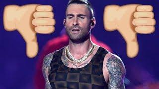 Internet Destroys Maroon 5 Super Bowl Halftime Show