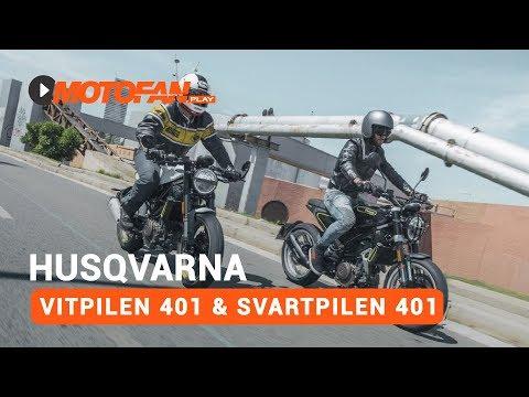 Vídeos de la Husqvarna Vitpilen 401
