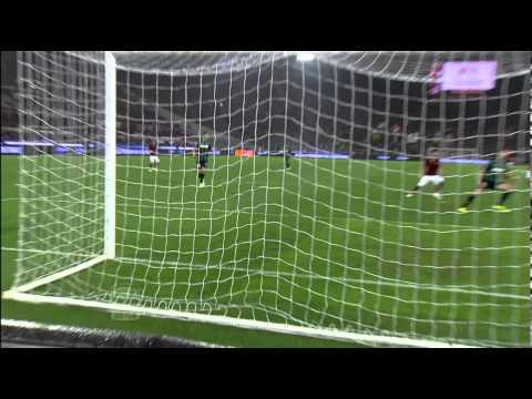 roma - sassuolo 2-2: goals & highlights zaza (2) e ljajic (2)