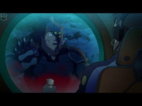 Doomsday kills the Atlanteans | The Death of Superman