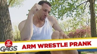 Arm Wrestling Surprise