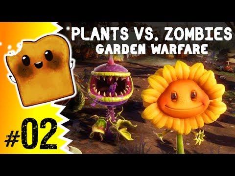 Gry dla Dzieci: Plants vs. Zombies: Garden Warfare #2 - Walka na Całego!