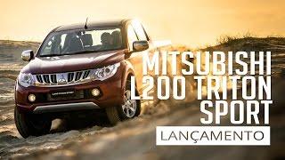 All New L200 Triton Sport 2017 - Lançamento