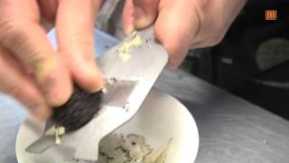 Oliven Limetten Marinade für schwarzen Trüffel