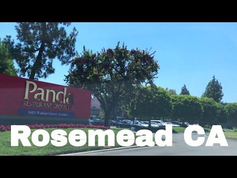 🔴  Rosemead Realtor Driving Tour 4K