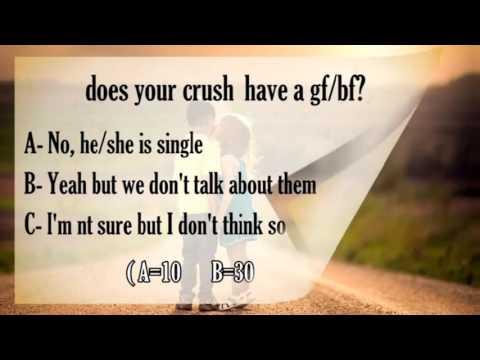 你暗戀的人也喜歡你嗎?