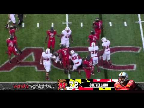 Joe Vellano Maryland Highlights (New England Patriots)