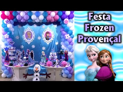 Video Decoração de #festa Tema Frozen Provençal - Aniversário / Party Kids / Cumple /Fiesta / Ideias download in MP3, 3GP, MP4, WEBM, AVI, FLV January 2017